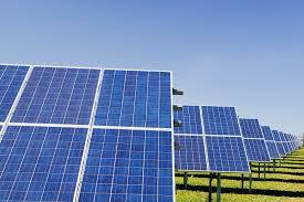 Navy's largest solar power plant started