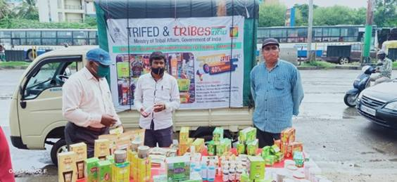 'Tribes India on Wheels' mobile van flagged in 31 cities of the country