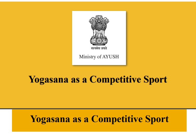 Yogasan received formal recognition as a competitive sport
