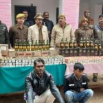 Now smuggling of alcohol from ambulances, arrest of two accused with 158 liters of illicit liquor of around 500000