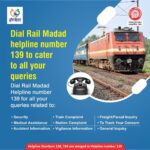 One Rail One Helpline 139 launched in 12 languages available